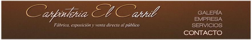 Carpinteria El Carril