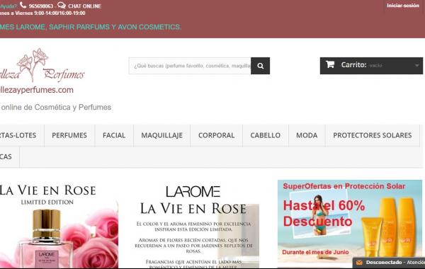 Belleza y Perfumes – Tienda Online de Perfumería y Cosmética